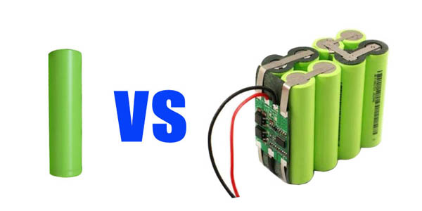 Lithium cell vs battery